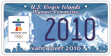 2010 Olympic Plate