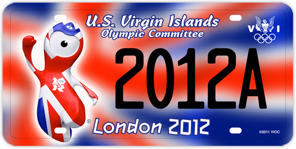 2012 London Olympic Plate